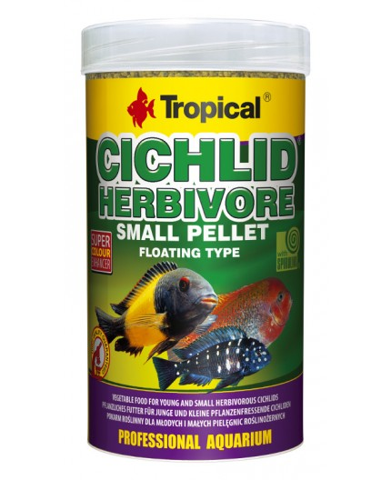 Tropical - Cichlid Herbivore Small Pellet