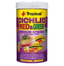 Tropical - Cichlid Red&Green Medium Sticks