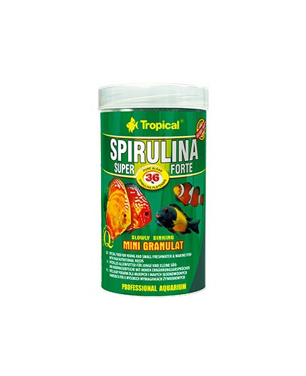 Tropical - Super Spirulina Forte Mini Granulat