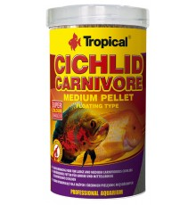 Tropical - Cichlid Carnivore Medium Pellet