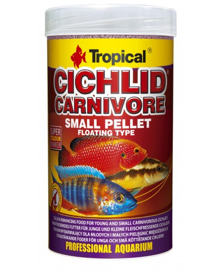 Tropical - Cichlid Carnivore Small Pellet