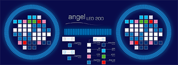 aqua medic plafoniera angel led
